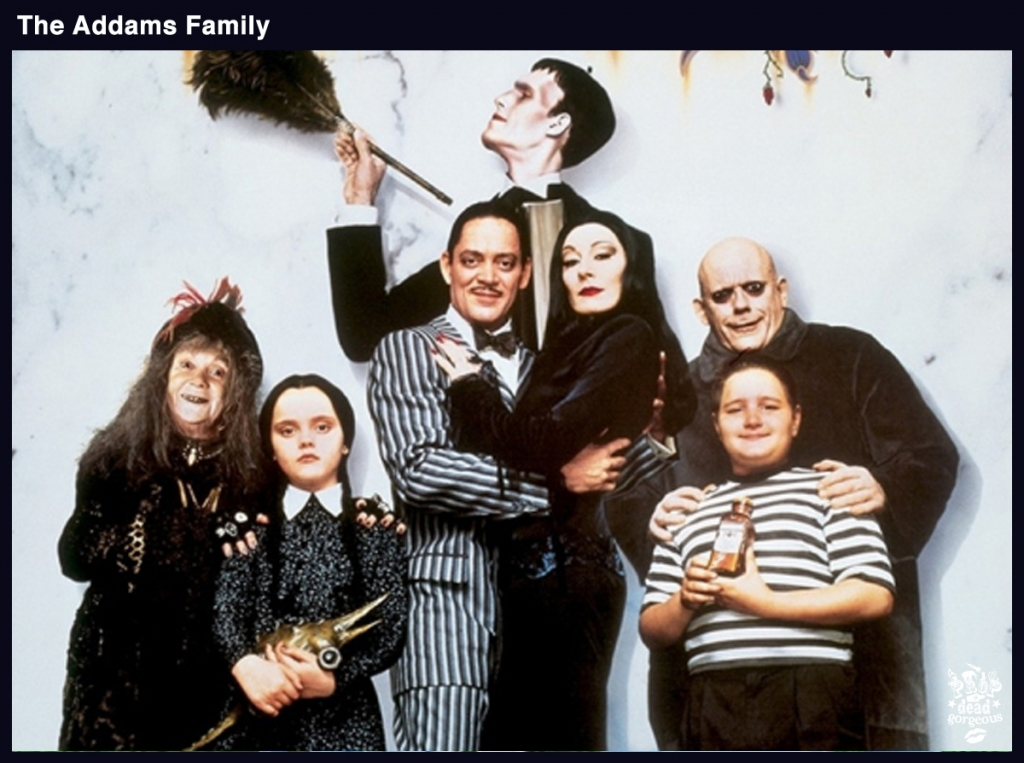 PDG NEWS ADDAMS FAMILY